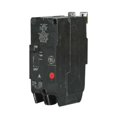 GE Distribution TEY220 Molded Case Circuit Breaker; 20 Amp, 480/277 Volt AC, 250 Volt DC, 2-Pole, Bolt-On Mount