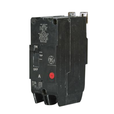 GE Distribution TEY230 Molded Case Circuit Breaker; 30 Amp, 480/277 Volt AC, 250 Volt DC, 2-Pole, Bolt-On Mount