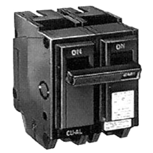 GE Distribution THQL2130HID Q-Line Molded Case Circuit Breaker 30 Amp  120/240 Volt AC  2-Pole  Plug-In Mount