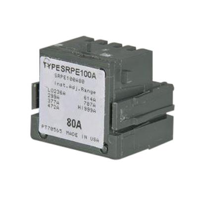 GE Distribution SRPE100A80 Spectra™ SE150 Standard Rating Plug; 100/80 Amp, 600 Volt AC, 3-Pole