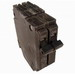 GE Distribution THQP245 Q-Line Molded Case Circuit Breaker; 45 Amp, 120/240 Volt AC, 2-Pole, Plug-In Mount