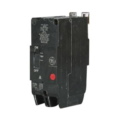 GE Distribution TEY280 Molded Case Circuit Breaker; 80 Amp, 480/277 Volt AC, 250 Volt DC, 2-Pole, Bolt-On Mount