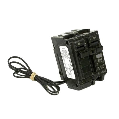 GE Distribution THQL1120ST1 Q-Line Molded Case Circuit Breaker; 20 Amp, 120/240 Volt AC, 1-Pole, Plug-In Mount