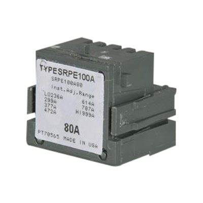 GE Distribution SRPF250A125 Spectra™ RMS SF250 Standard Rating Plug; 250/125 Amp, 600 Volt AC, 3-Pole