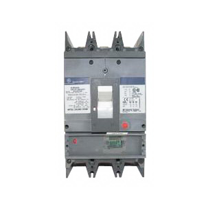 GE Distribution SGHA36AT0400 Spectra RMS™ Molded Case Circuit Breaker; 400 Amp, 600 Volt AC, 3-Pole
