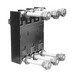 GE Distribution TCLK365 Power Break® II 3-Hole Circuit Breaker Lug Kit; 3-Pole, 600 Amp, (1) 600 KCMIL-8 AWG, (2) 500 KCMIL-2/0 AWG Cu/Al