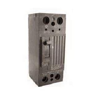 GE Distribution THQD22225 Molded Case Circuit Breaker; 225 Amp, 240 Volt AC, 2-Pole