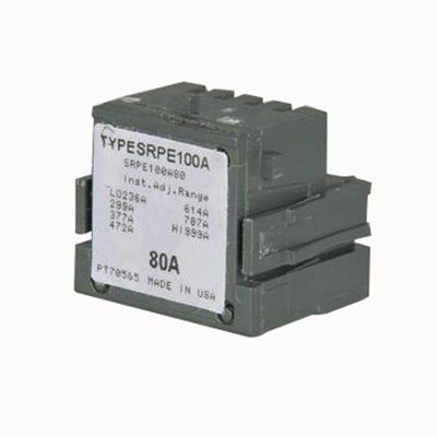 GE Distribution SRPE30A15 Spectra™ RMS SE150 Standard Rating Plug; 30/15 Amp, 600 Volt AC, 3-Pole