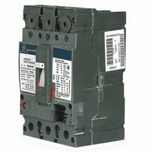 GE Distribution SELA36AT0100 Spectra RMS™ Molded Case Circuit Breaker; 100 Amp, 600 Volt AC, 3-Pole