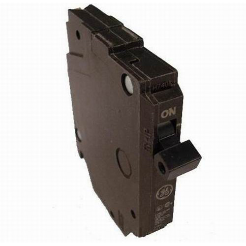 GE Distribution THQP120 Q-Line Molded Case Circuit Breaker; 20 Amp, 120/240 Volt AC, 1-Pole, Plug-In Mount