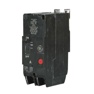 GE Distribution TEY290 Molded Case Circuit Breaker; 90 Amp, 480/277 Volt AC, 250 Volt DC, 2-Pole, Bolt-On Mount