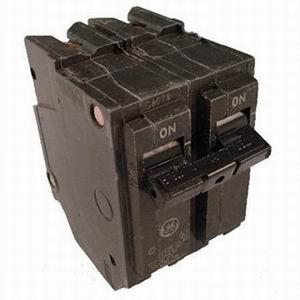 GE Distribution THQL2120 Q-Line Molded Case Circuit Breaker; 20 Amp, 120/240 Volt AC, 2-Pole, Plug-In Mount