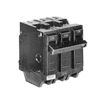 GE Distribution THQL32015 Q-Line Molded Case Circuit Breaker; 15 Amp, 240 Volt AC, 3-Pole, Plug-In Mount