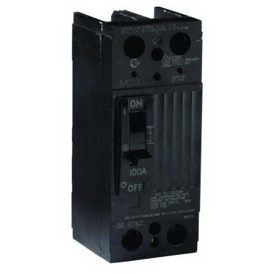 GE Distribution TQD22200WL Molded Case Circuit Breaker; 200 Amp, 240 Volt AC, 2-Pole
