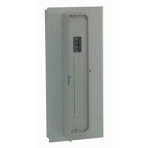 GE Distribution TM3215CCU PowerMark Gold™ Standard Main Breaker Load Center; 150 Amp, 120/240 Volt AC, 1 Phase, 1 Inch: 32 Space, 32 Circuit, 3-Wire, Flush/Surface
