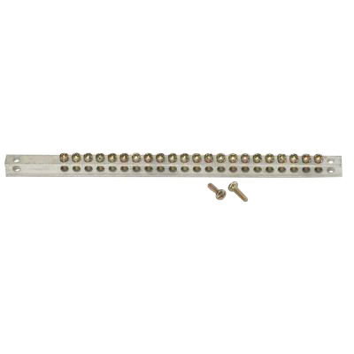 GE Distribution TGK32 PowerMark Gold™ Plus™ Ground Bar Kit; 32 Terminal, For Powermark Gold/Plus™ Loadcenter