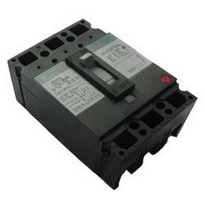 GE Distribution TED134015 Molded Case Circuit Breaker; 15 Amp, 480/600 Volt AC, 500 Volt DC, 3-Pole