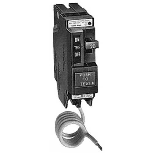 GE Distribution THQL1130GFEP Ground Fault Q-Line Molded Case Circuit Breaker; 30 Amp, 120/240 Volt AC, 1-Pole, Plug-In Mount