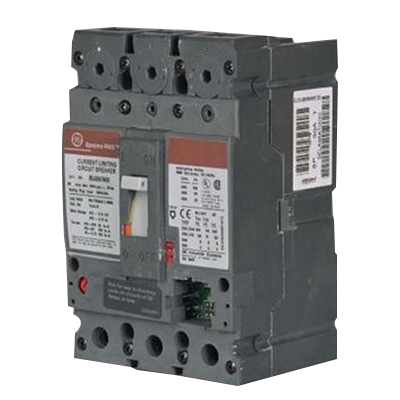 GE Distribution SEHA36AT0060 Spectra RMS™ Molded Case Circuit Breaker; 60 Amp, 600 Volt AC, 3-Pole