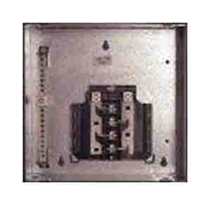 GE Distribution TLM612RCU PowerMark Gold™ Standard Convertible Main Load Center; 125 Amp, 120/240 Volt AC, 1 Phase, 1 Inch: 6, 1/2 Inch: 42, 16, 24, 12, 20, 40 Space, 12 Circuit, 3-Wire