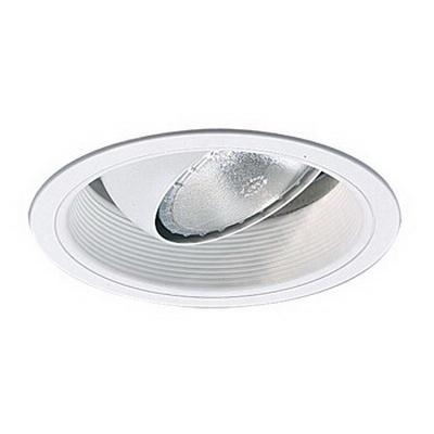 Capri Lighting RM38W Quicklight™ 6 Inch Stepped Baffle Regressed Eyeball Trim; White