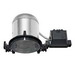 Capri Lighting QL6NBQP QuickLights® 1-Light 6 Inch Recessed Housing; 0.032 Aluminum Housing, Steel Dome, Insulated and Non-Insulated Ceiling