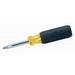 Ideal 35-910 11-in-1 Screwdriver/Nutdriver; Cushioned Grip