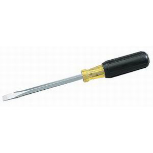 Ideal 35-156 Square Shank Heavy-Duty Screwdriver; 5/16 Inch Keystone Tip, 11-11/32 Inch Overall Length