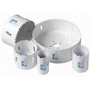 Ideal 35-368 IRONMAN™ Variable Pitch Hole Saw; 2-1/2 Inch, High Speed Steel, M3 Bi-Metal Teeth