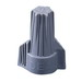 Ideal 30-342 Twister® Wire Connector; 18 - 6 AWG, 3/14 AWG Min, 2/8 AWG With 2/12 AWG MAX, Gray, 50/BX