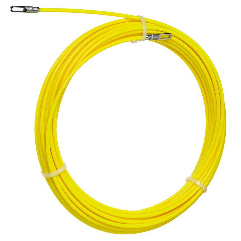 Ideal 31-152 S-Class® Non-Conductive Fish Tape; 100 ft Length, Nylon Coated Fiberglass Core