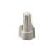 Ideal 30-341J Twister® Wire-Nut® Wire Connector; 22 - 8 AWG, 3/22 AWG Min, 3/10 AWG MAX, Tan, 750/Jar