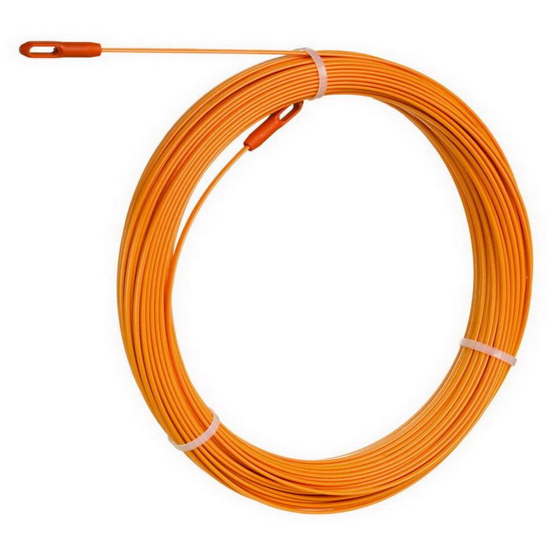 Ideal 31 554 volt guard fish tape 120 ft length for Ideal fiberglass fish tape