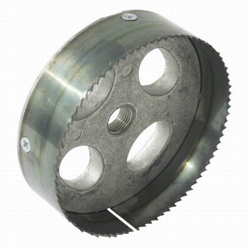 Greenlee 35712 Recessed Lighting Hole Saw; 4-3/8 Inch, Steel Toothed