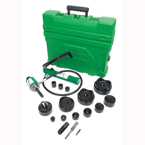 Greenlee 7310SB Slug-Buster® Knockout Punch Driver Set; 1/2 - 4 Inch Conduit/Pipe, Hydraulic