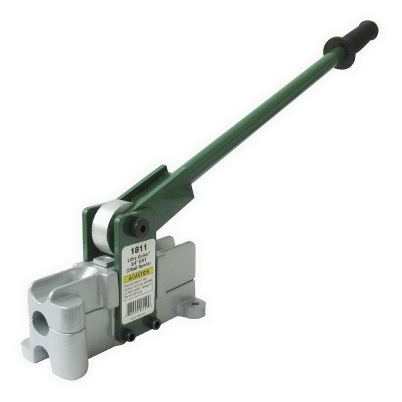 Greenlee 1810 Little Kicker® Offset Hand Bender; 1/2 Inch EMT Conduit