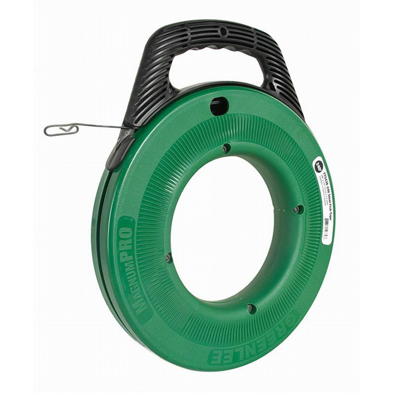 Greenlee FTS438-240BP MagnumPRO Fish Tape; 240 ft Length, Steel