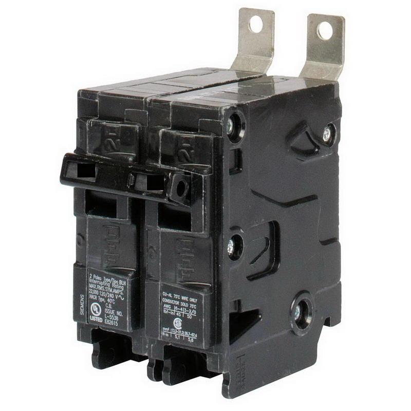 Siemens B270 Molded Case Circuit Breaker; 70 Amp, 120/240 Volt AC, 2-Pole, Bolt-On Mount