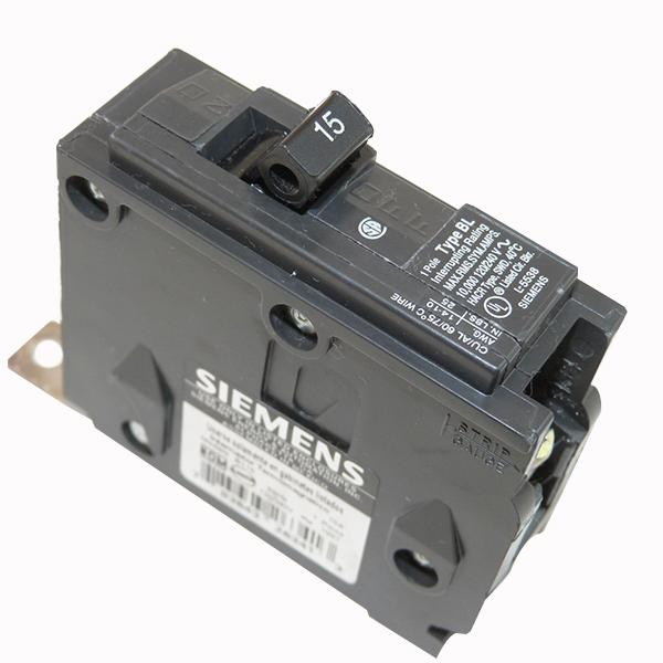Siemens B120H Molded Case Circuit Breaker; 20 Amp, 120/240 Volt AC, 1-Pole, Bolt-On Mount
