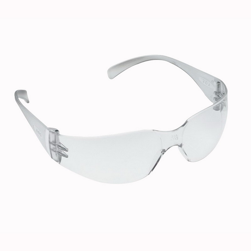 3M 11326 Virtua™ Hard Coat Anti-Fog Protective Safety Eyewear; Universal, Frameless With Clear Lens