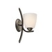 Kichler 45358OZ Granby Collection 1-Light Incandescent Wall Sconce; 100 Watt, Olde Bronze, Lamp Not Included