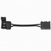 Kichler 1IC02BK Single System LED Tape Interconnect Cable; Black, Tape To Tape