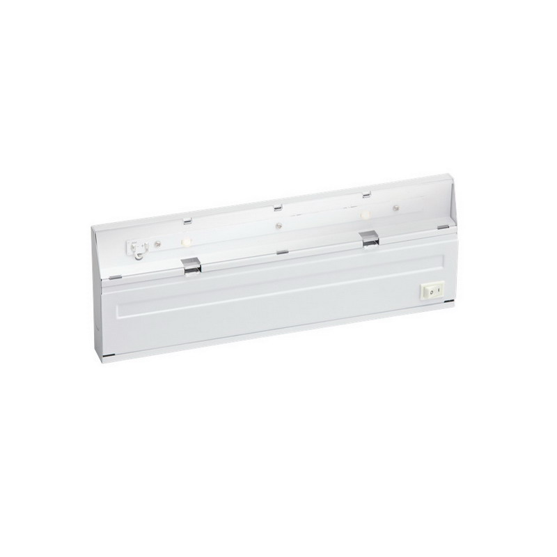 Under Counter Lighting Led Direct Wire: Kichler 12056WH 2-Light Direct-Wire LED Under-Cabinet