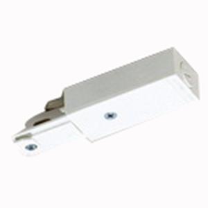 Lightolier 6048NWH Lytespan® Basic Live End Connector; White