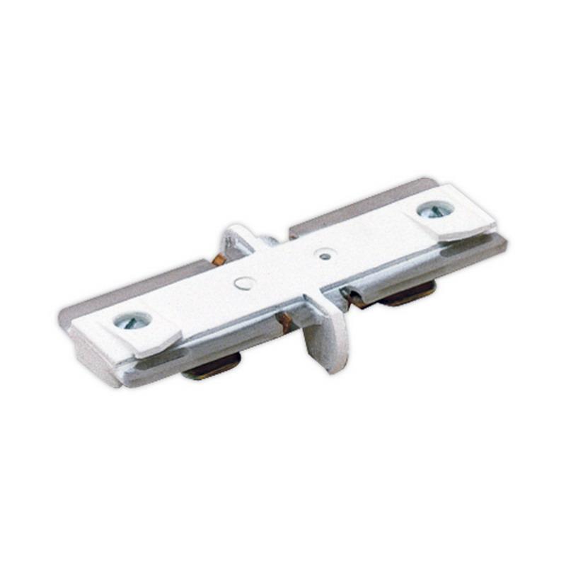 Lightolier 6049NWH Basic Lytespan® Basic Mini Coupler; Matte White