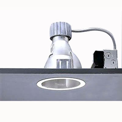 Lightolier S6132BU Calculite® 1-Light Aperture 6 Inch Triple Tube Frame-In Kit; Stamped Steel Frame