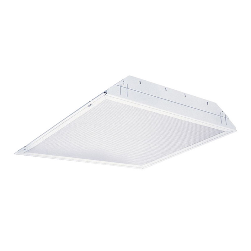 Lithonia Lighting / Acuity 2SP8G2U316A12MVOLTGEB10IS 2-Light Lay-In Grid Mount SP8 Series Fluorescent Troffer; 32 Watt, White, Lamp Not Included