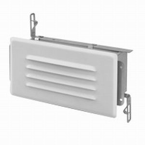 Lithonia Lighting / Acuity SL1 Incandescent Louvered Step Light; 25 Watt, Damp Location