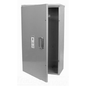 Milbank CT363611-HC One Door Hinged Cover; Gray, 36 x 36 x 11 Inch