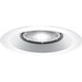Progress Lighting P8072-28 Metal Flanged 6 Inch Open Splay Shower Trim; Insulated and Non-Insulated Ceiling